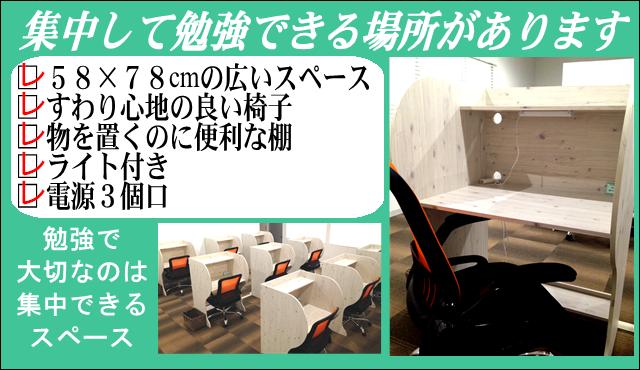 勉強の場所